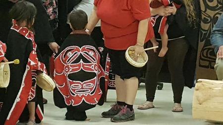 Namgis Drumming